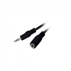 3M Stereo 3.5MM Plug To Jack Mf Nickle